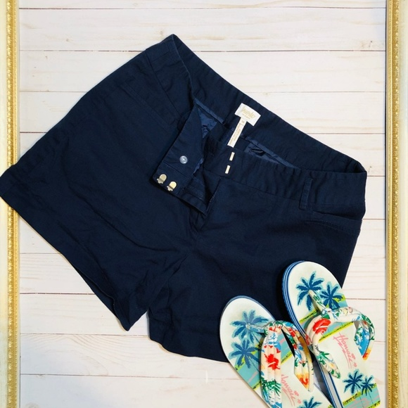 Laundry By Shelli Segal Pants - Laundry By Shelli Segal Navy Shorts